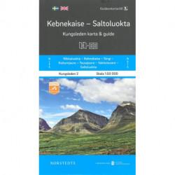 Kebnekaise-Saltolokta : Kungsleden karta & guide: Kungsleden karta & guide