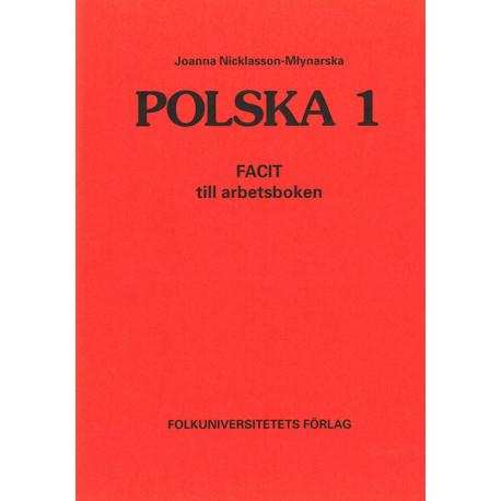 Polska 1: facit till arbetsboken