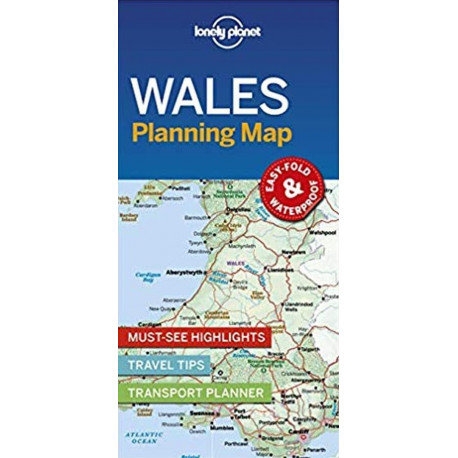 Lonely Planet Planning Map: Wales