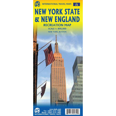 New York State and New England Recreation Map