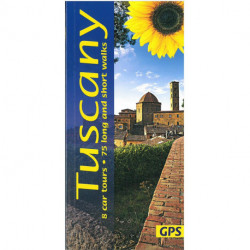 Tuscany: 8 car tours, 75 long and short walks