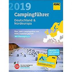 ADAC Campingführer 2019: Deutschland / Nordeuropa