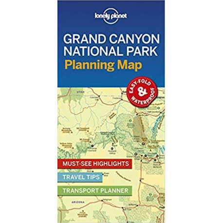 Lonely Planet Planning Map: Grand Canyon National Park