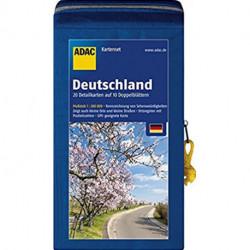 ADAC KartenSet Deutschland blatt 1-20 in Kartentasche 2018/2019