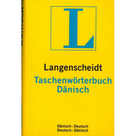 Taschenwörterbuch Dänisch: Dänisch-Deutsch Deutsch-Dänisch