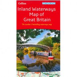 Nicholson Inland Waterways Map of Great Britain