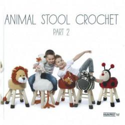 Animal Stool Crochet, part 2