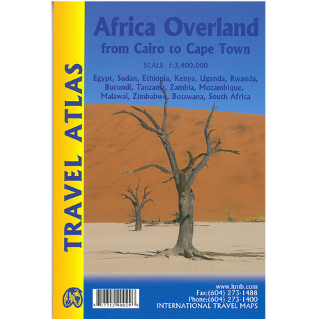 Africa Overland: Cairo to Cape Town Travel Atlas