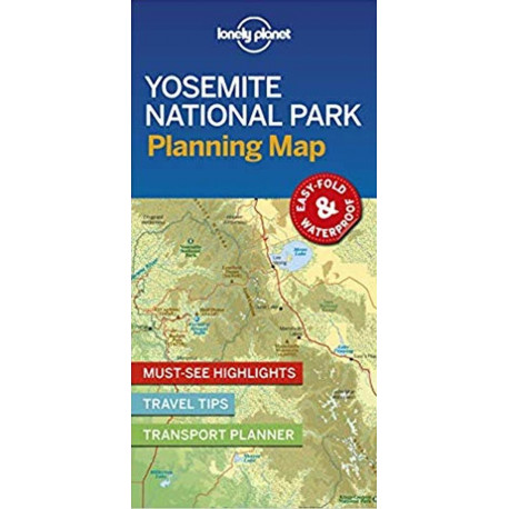 Lonely Planet Planning Map: Yosemite National Park Map