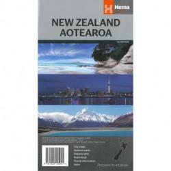 New Zealand Aotearoa Country Map
