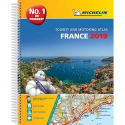 Michelin Tourist & Motoring Atlas France 2019
