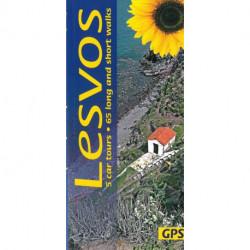 Lesvos: 5 car tours, 65 long and short walks