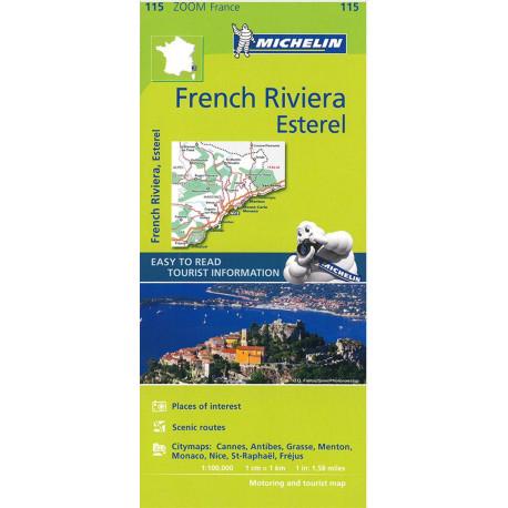 French Riviera: Esterel - Cannes, Nice, Monaco, Menton