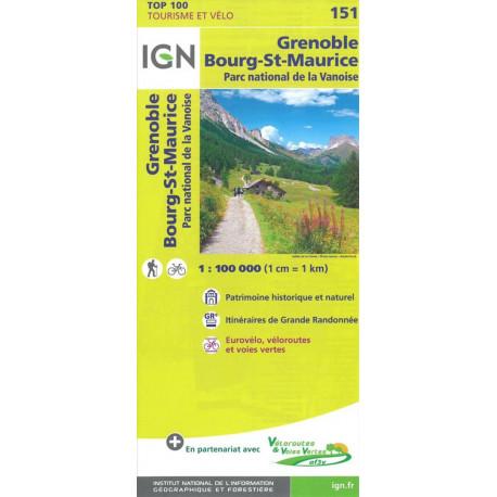 TOP100: 151 Grenoble - Bourg-St-Maurice, Parc national de la Vanoise