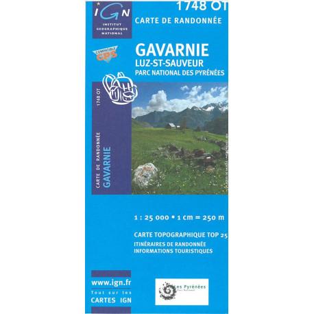 TOP25: 1748ET Néovielle - Vallée d'Aure - Parc National des Pyrénées