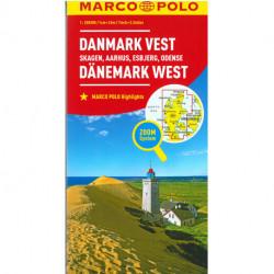 Danmark Vest: Skagen, Aarhus, Esbjerg, Odense