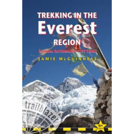 Trekking in the Everest Region: Includes Kathmandu City Guide: Practical Guide with 27 Detailed Route Maps