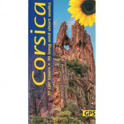 Corsica: 10 car tours, 70 long and short walks