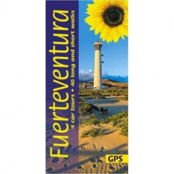 Fuerteventura: 4 car tours, 40 long and short walks