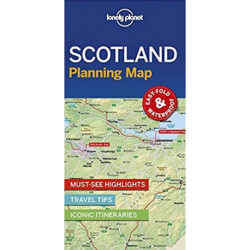 Lonely Planet Planning Map: Scotland