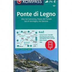Ponte di Legno, Alta Val Camonica, Passo del Tonale, Val di Vermiglio, Val Genova