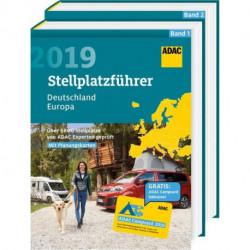 ADAC Stellplatzführer 2019: Deutschland / Europa (vol. 1-2)