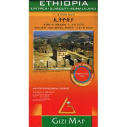 Ethiopia, Eritrea, Djibouti, Somaliland