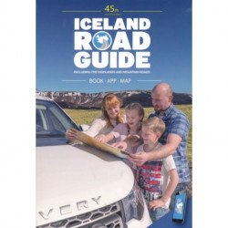 Iceland Road Guide: A Complete Road and Reference Guide, Book with App