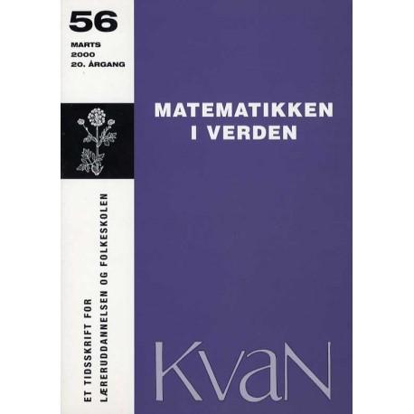 Kvan 56 - Matematikken i verden