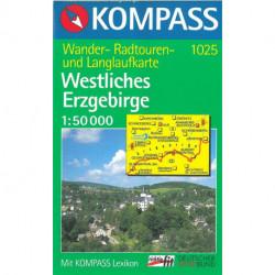 Westliches Erzgebirge, Kompass Wanderkarte 1025