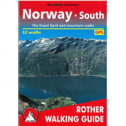 Norway South: 53 selected fjord and mountain walks between Oslo, Lillehammer, Bergen and Kristiansand
