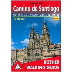 Camino de Santiago: Way of St. James from the Pyrenees to Santiago, 42 stages