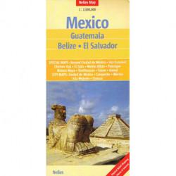 Mexico, Guatemala, Belize, El Salvador