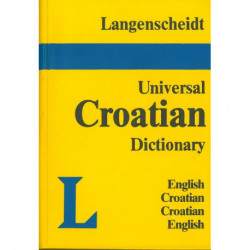 English-Croatian Croatian-English Dictionary