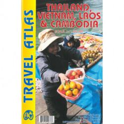 Thailand, Vietnam, Laos & Cambodia Travel Atlas