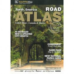 North America Road Atlas 2013 - United States, Canada, Mexico