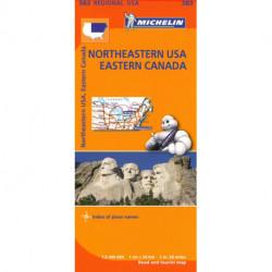 USA: Northeastern USA & Eastern Canada