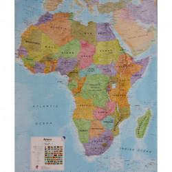 Africa wallmap