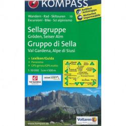 Sellagruppe - Gruppo di Sella: Val Gardena, Alpe di Siusi
