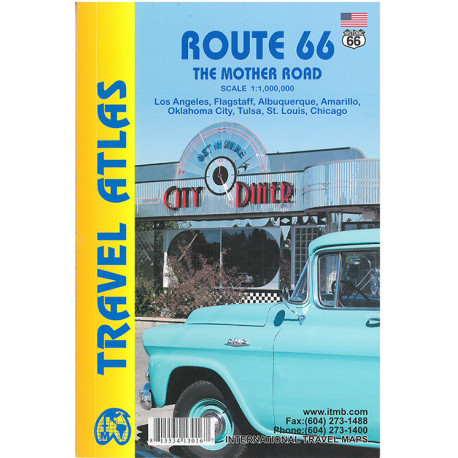 Route 66 Travel Atlas: The Mother Road