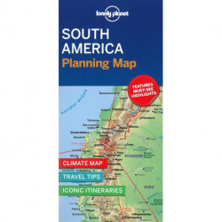 Lonely Planet Planning Map: South America