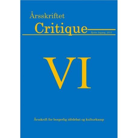 Årsskriftet Critique VI
