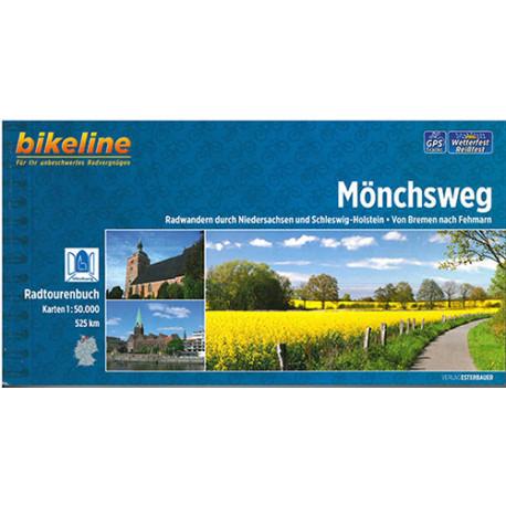 Mönchsweg: Radwandern durch Niedersachsen und Schleswig-Holstein: Von Bremen nach Fehmarn