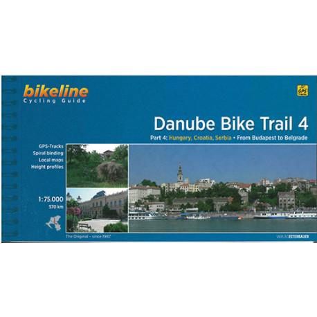 Danube Bike Trail 4: Hungary, Croatia, Serbia: From Budapest to Belgrade