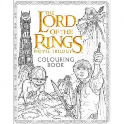 The Lord of the Rings Movie Trilogy Colouring Book
