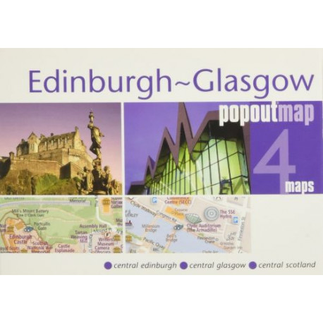 Edinburgh Glasgow Popout Map