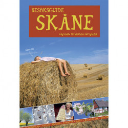 Besöksguide Skåne: vägvisare till skånska härligheter (m. register, kort, GPS)