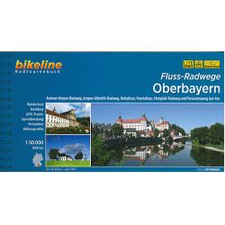 Oberbayern Fluss-Radwege: Ammer-Amper-Radweg, Amper-Altmühl-Radweg, Ilmtaltour, Paartaltour, Mangfall und Isar-Inn