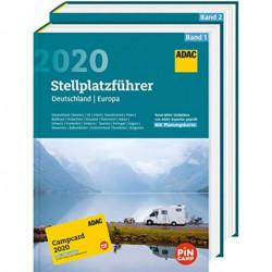 ADAC Stellplatzführer 2020: Deutschland / Europa (vol. 1-2)