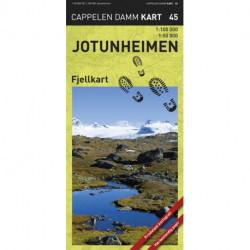 Jotunheimen fjellkart